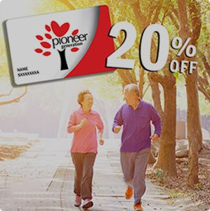 Latest Promotion: 20% off for Pioneer Generation cardholders