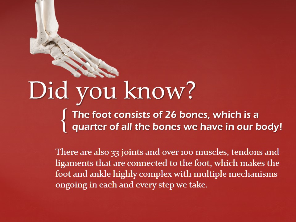 Custom Insoles - Did you know - The Sole Clinic